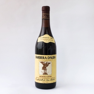 1980 BARBERA D'ALBA VIGNETO COTTA' CONFRATELLI DI SAN MICHELE